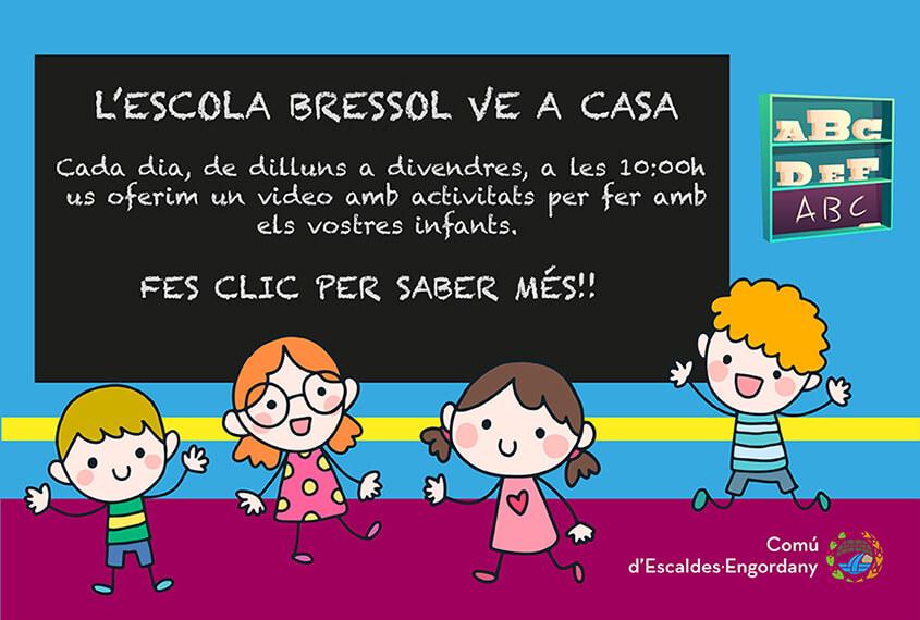 L'Escola Bressol online amb activitats, contes i més.
