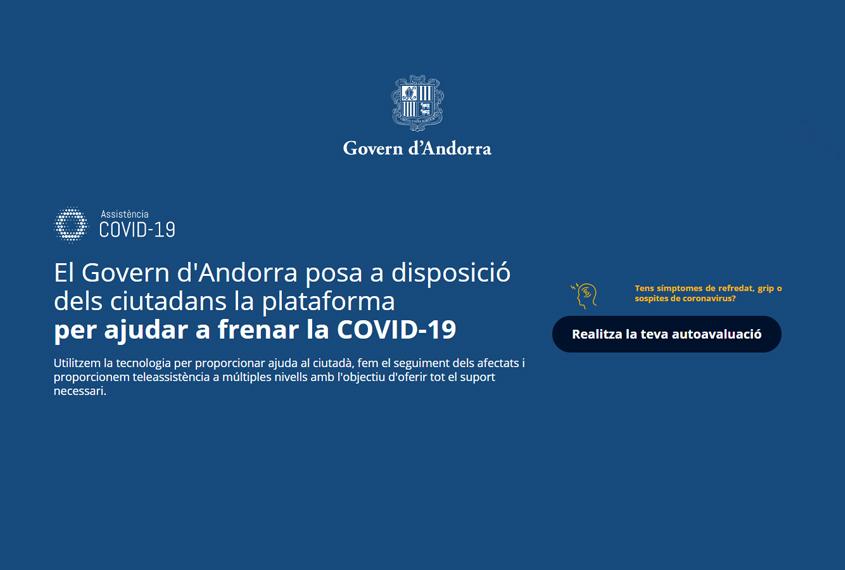 Plataforma per ajudar a frenar la COVID-19