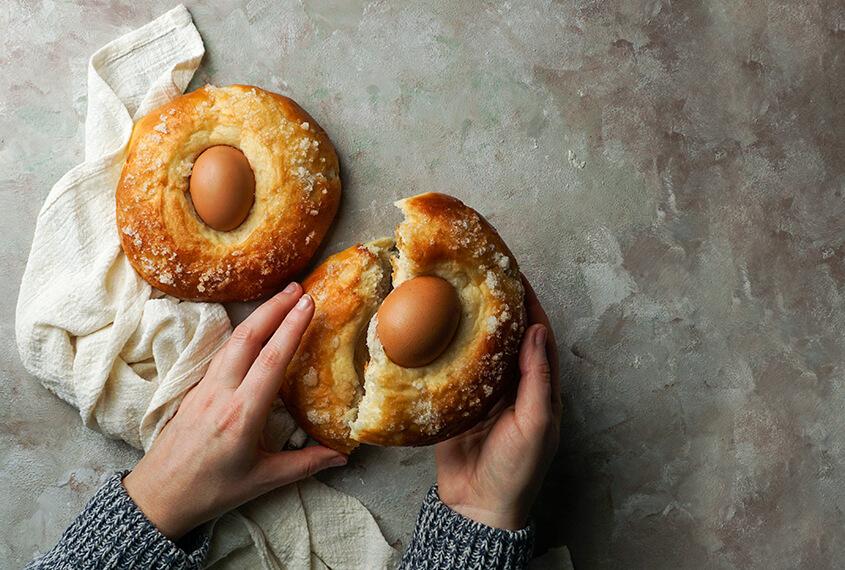 Redort o pastís tradicional de Pasqua